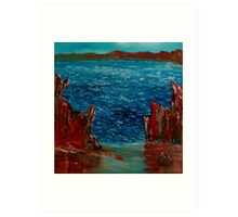 St Catherine's Bay Art Print