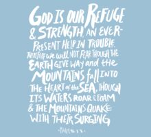 Psalm 46: 1-3 II One Piece - Short Sleeve