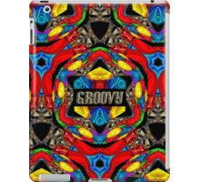 PSYCHEDELIC - GROOVY  DECORATIVE THROW PILLOW DESIGN iPad Case/Skin