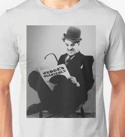 Chaplin smile Unisex T-Shirt