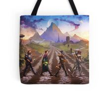 Advenrures Road Tote Bag