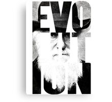 Claim to Fame Series 01 - Charles Darwin Canvas Print