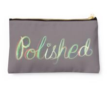 Polished Calligraphy 2 Studio Pouch