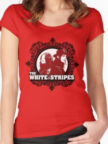 The White Stripes Women's Fitted Scoop T-Shirt