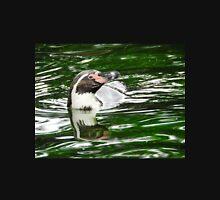 Penguin in emerald water Unisex T-Shirt