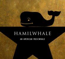 Hamilwhale Sticker