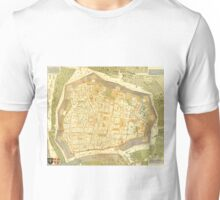 Vintage Map of Vienna Austria (1547) Unisex T-Shirt