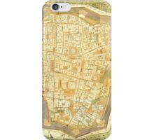 Vintage Map of Vienna Austria (1547) iPhone Case/Skin