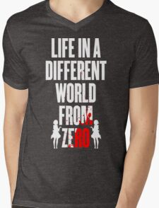 Life in a different world from zero Mens V-Neck T-Shirt