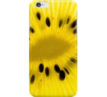 Golden kiwi iPhone Case/Skin