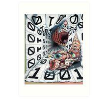 Theta Vyrus Art Print