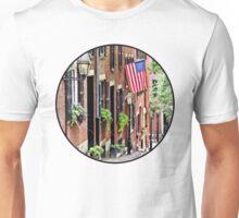 Boston MA - Acorn Street Unisex T-Shirt