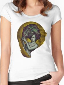 Wolf Dreams Women's Fitted Scoop T-Shirt