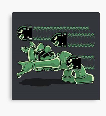 Mario matrix Canvas Print