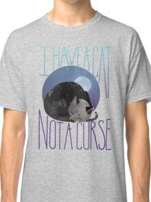 Black Cat Watercolor Classic T-Shirt
