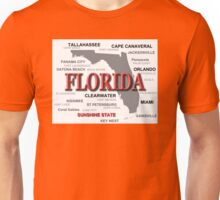 Florida State Pride Map Silhouette  Unisex T-Shirt