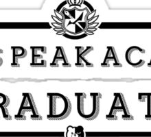 Hope's Peak Graduate Sticker
