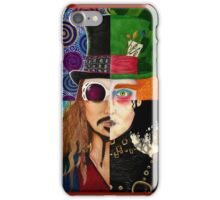 Johnny Depp Character Collage iPhone Case/Skin