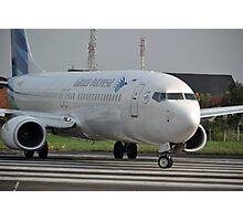 Garuda Indonesia airline Photographic Print