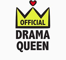 Official Drama Queen Womens Fitted T-Shirt