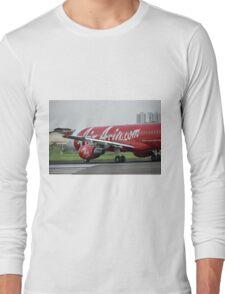 Air Asia airplane Long Sleeve T-Shirt
