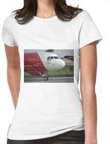 Air Asia airplane Womens Fitted T-Shirt