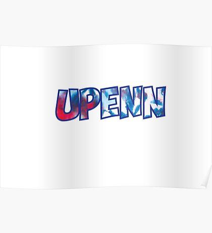 UPenn Tie Dye Poster
