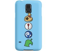 Animal Crossing Items (in many colours!) Samsung Galaxy Case/Skin