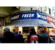 Not quite a Fishmonger in Brixton Village - 2010 Photographic Print