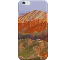 the colour mountain iPhone Case/Skin