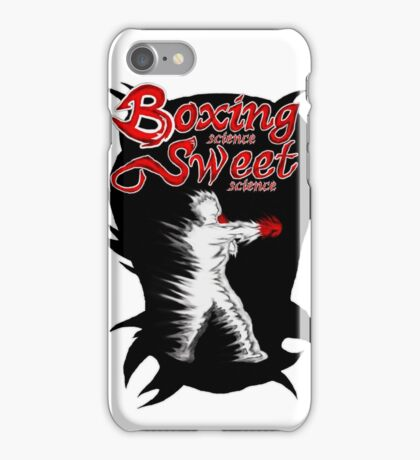 Boxing Sweet science iPhone Case/Skin