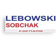 Lebowski Sobchak 2016 Canvas Print
