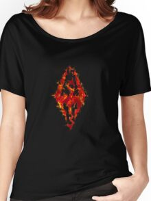 Fus ro dah - Fire Women's Relaxed Fit T-Shirt