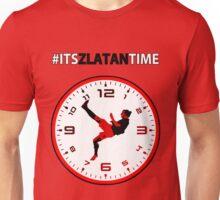 #ItsZlatanTime - Its Zlatan Ibrahimovic Time at Man Utd Unisex T-Shirt