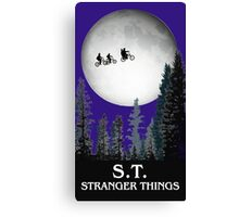 Stranger Things Canvas Print