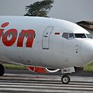 Lion Air airplane by bayu harsa