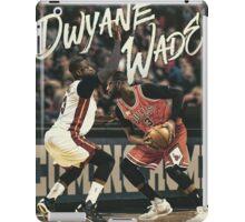 Dwyane Wade Miami to Chicago Basketball Artwork iPad Case/Skin