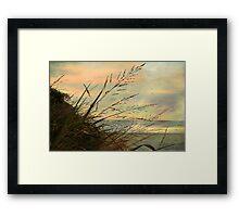 A Musical Sunset  Framed Print