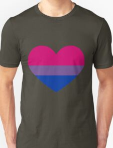 Bisexual Heart Unisex T-Shirt