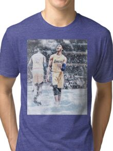 D'Angelo Russell Ice In My Veins Basketball Artwork Los Angeles Tri-blend T-Shirt