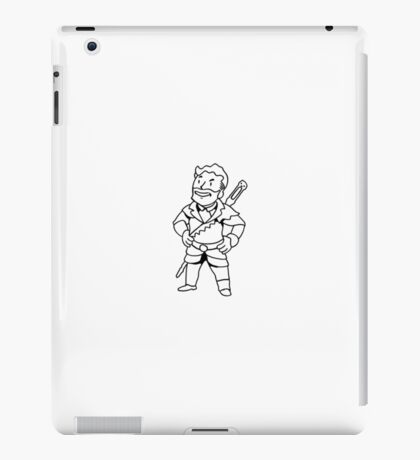 Lord of the Never-There iPad Case/Skin