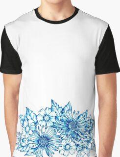 Blur Floral Arrangement Graphic T-Shirt