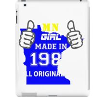 This Minnesota Girl Made in 1985 iPad Case/Skin
