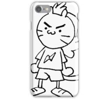 Mullet Cat Black&White iPhone Case/Skin