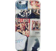 k-pop discography  iPhone Case/Skin
