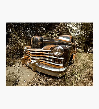 1948 Cadillac Limo Photographic Print