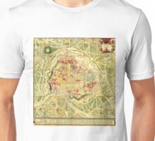 Vintage Map of Vienna Austria (1710) Unisex T-Shirt