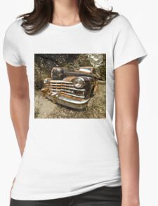 1948 Cadillac Limo Womens Fitted T-Shirt