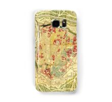 Vintage Map of Vienna Austria (1710) Samsung Galaxy Case/Skin
