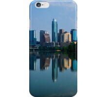 Austin Skyline a Green Reflection iPhone Case/Skin